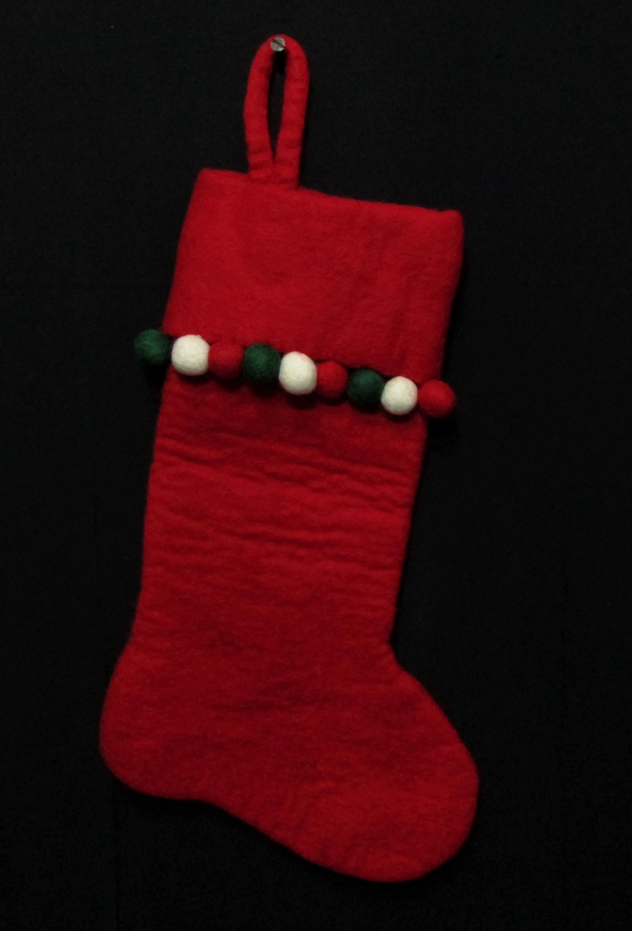 Felt Christmas Xmas Holiday Large Stocking Bag Socks Tree