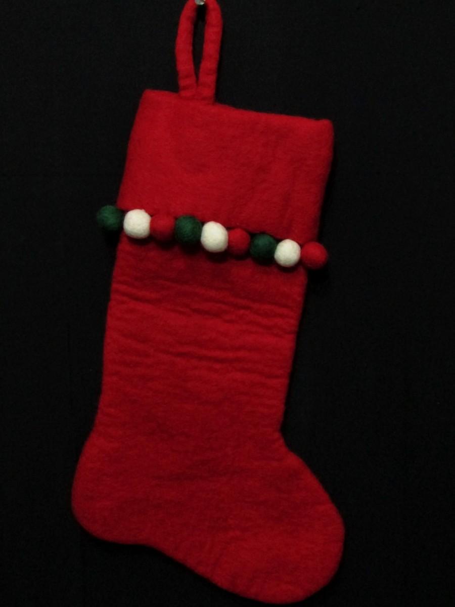 Felt Christmas Xmas Holiday Large Stocking Bag Socks Tree Fireplace Hanging - F139