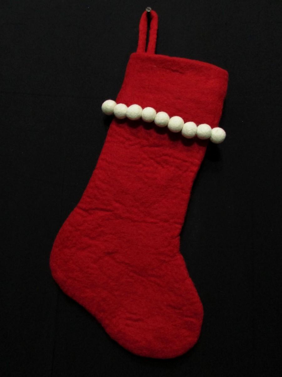 Felt Christmas Xmas Holiday Large Stocking Bag Socks Tree Fireplace Hanging - F142