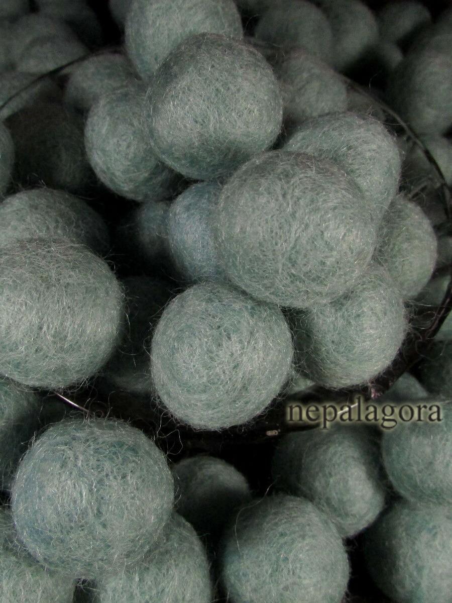 Handmade Wool Felt Ball 2cm - F113