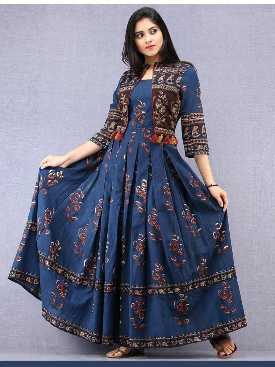 Indian designer Gown party dress - L39