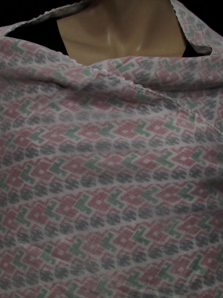 Wrap Traditional Dhaka shawl Throw - Sw186