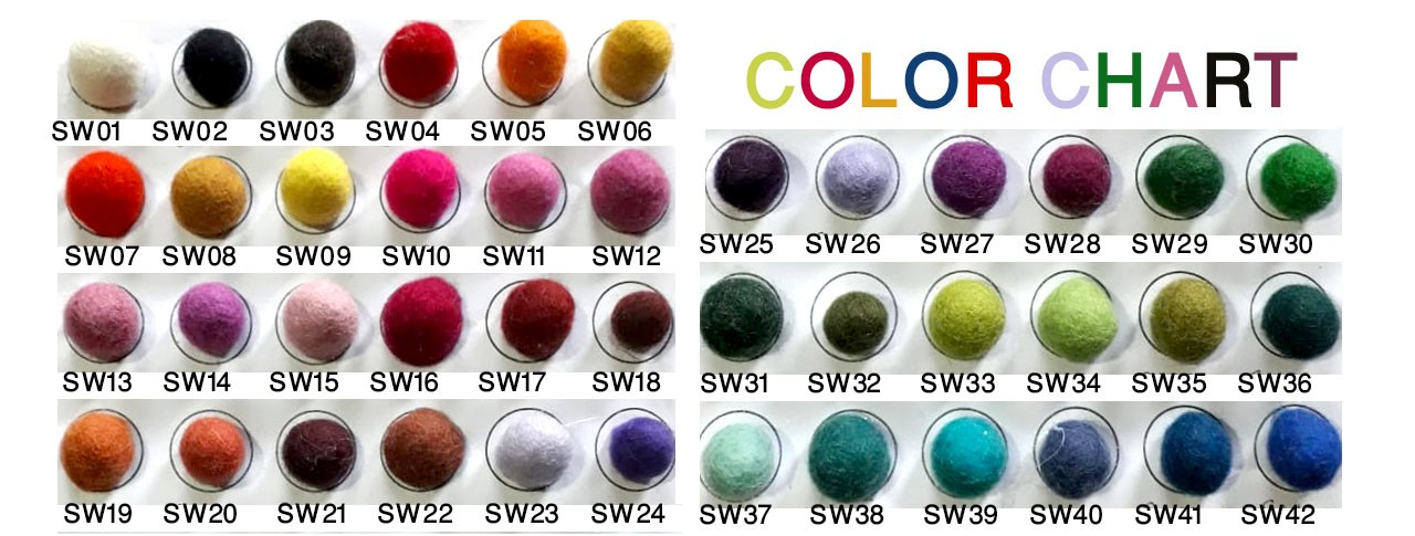 Color Chart Number